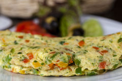 Spanish Omellete Stock Photos