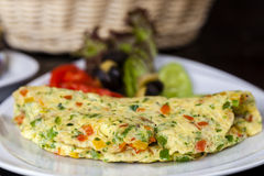 Spanish Omellete Stock Photo