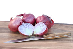 Spanish onions Royalty Free Stock Image