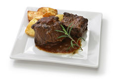 Spanish oxtail stew Royalty Free Stock Photos