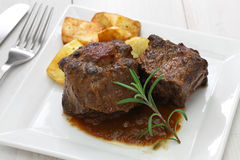 Spanish oxtail stew stock images