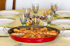 Spanish Paella Stock Images