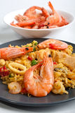 Spanish paella Royalty Free Stock Photo