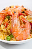 Spanish paella Royalty Free Stock Image