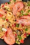 Spanish paella Stock Photo