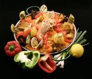 Spanish paella Royalty Free Stock Photo