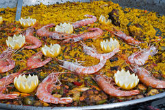 Spanish paella Royalty Free Stock Image