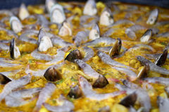 Spanish paella seafood Royalty Free Stock Photography