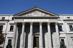 Spanish parliament Stock Images