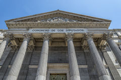 Spanish parliament, Madrid Stock Photography
