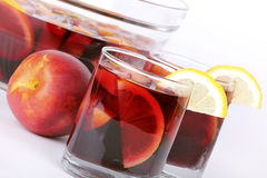 Spanish party sangria royalty free stock photo