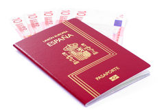 Spanish Passport Royalty Free Stock Photos