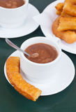 Spanish pastry - churros Stock Image