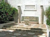 Spanish patio Stock Photos
