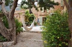 Spanish patio Royalty Free Stock Image