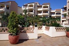 Spanish patio Royalty Free Stock Photo