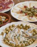 Spanish pickled tapas Royalty Free Stock Photo