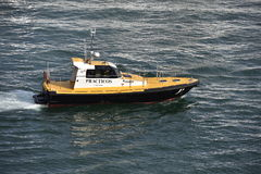 Spanish Pilot Cutter Royalty Free Stock Photo