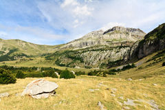 Spanish Pirineos. A landscape view in Lizara's Valley, Spanish Pirineos Stock Images