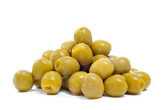 Spanish pitted olives Stock Photos