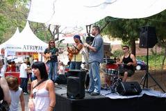 Spanish Pop Group, Marbella. Stock Image