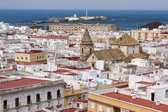 Spanish Port city Cadiz Stock Photos
