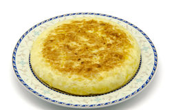 Spanish Potato Omelet Stock Image