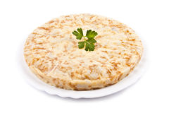 Spanish potato omelette Royalty Free Stock Photography