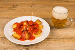 Spanish potato tapa Stock Image