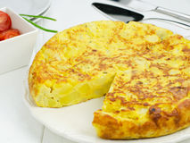 Spanish potato tortilla Royalty Free Stock Photography