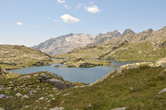 Spanish Pyrenees Stock Image