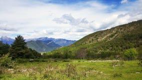 Spanish Pyrenees Royalty Free Stock Photos
