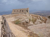 Spanish quarters, Erice, Sicily, Italy Royalty Free Stock Photos