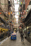Spanish Quarters Naples Royalty Free Stock Image