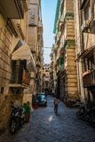 Spanish Quarters or Quartieri Spagnoli is a part of the city of Naples in Italy royalty free stock images