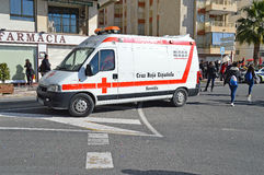 Spanish Red Cross Royalty Free Stock Photography