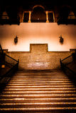 Spanish Renaissance Revival Staircase Royalty Free Stock Photos