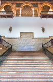 Spanish Renaissance Revival Staircase Royalty Free Stock Images