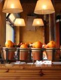 Spanish restaurant. Restaurant with nice decoration in Cadiz, Spain Stock Photo