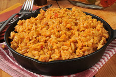Spanish Rice royalty free stock photos