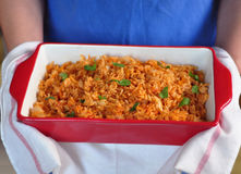 Spanish Rice Royalty Free Stock Photos