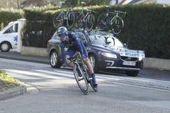 Spanish rider Benat Intsausti Cycling Stock Image