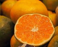 Spanish ripe and juicy tangerine. Spain Stock Photos