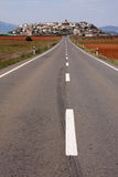Spanish road Stock Photo