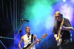 Spanish rock singer Rosendo. Stock Photo