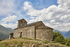 Free Spanish Romanesque Art. Sant Quirc De Durro Church. Boi Stock Images - 124918384