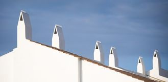Spanish Roof Royalty Free Stock Photography