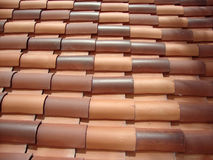 Spanish Roof Tile Stock Images