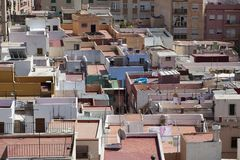 Spanish Rooftops Royalty Free Stock Photography