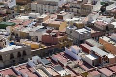 Spanish Rooftops Royalty Free Stock Photo